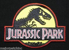 JURASSIC PARK EMBROIDERED LOGO COSTUME UNIFORM COSPLAY MOVIE VELCRO® BRAND PATCH