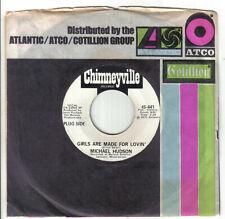"Northern Crossover 70s Soul 7""-Michael Hudson-Girls Are Made For Lovin'-Chimneyv"