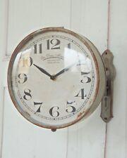 Wanduhr, Uhr 1879, drehbar im antique Shabby Chic Landhaus