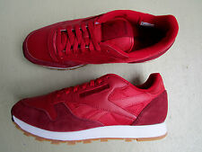 Kendrick Lamar X Reebok Classic Leather 45 Perfect Split Flash Red/Merlot White