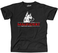 TINF T-Shirt MALIFIZIERT MALINOIS Mali infiziert Hunde Hund Siviwonder