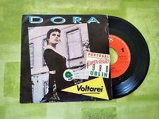 """VINILO SINGLE""""DORA""""I´LL COME BACK(V.inglés) Canción de Portugal-EUROVISION 1988"""