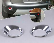 ABS Chrome Rear Fog Light Lamp Cover Trim for Nissan Qashqai Dualis 2008-13