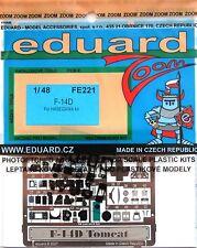 Eduard Zoom FE221 1/48 color grabado para la Hasegawa F-14D Super Tomcat Kit