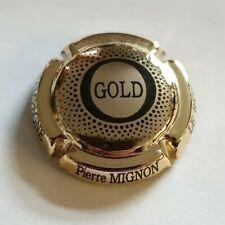 Capsule de champagne Pierre Mignon Gold noir. RARE !