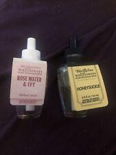 Bath & Body Works Rose Water & Ivy+ Honeysuckle Wallflowers