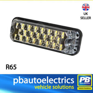 Vision Alert ECCO 3800 R65 Surface Mount LED Strobe Light 15 Patterns - 3812A