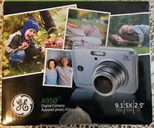 GE A950 - 9MP Digital Camera with 5X Optical Zoom and 2.5 Inch LCD - Blue -New