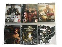 Ps3 Games Lot Of 6 Madden 12 Soul Calibur 4 Ufc 2010 Mortal Kombat Vs Dc Etc