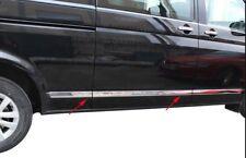 03-15 VW CARAVELLA/MULTIVAN T5 Chrome Side Door Steramer 5Pcs S.Steel