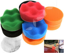 "3"" 75mm Sponge Polishing Waxing Buffing Pads Kit Compound Polish Auto Car Tool"