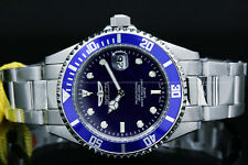 9204OBInvicta Pro Diver COIN EDGE bezel Blue Dial Stainless Steel Bracelet Watch
