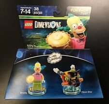 NEW pack of LEGO® DIMENSIONS THE SIMPSONS 71227, 38 Pieces, Fun Pack