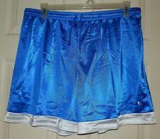 New Womens size XL 16-18 Royal Blue Dazzle Shorts Basketball Workout Running 6.5
