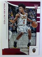 2018 Panini Chronicles Rookies & Stars Red Collin Sexton Rookie RC #621, #'d/149
