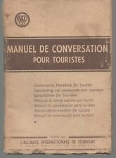 A I T CONVERSATION HANDBOOK FOR TOURISTS ENGLISH FRENCH DUTCH GERMAN ITALIAN +