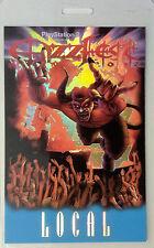 Ozzfest - 2002 Tour - Laminated Backstage Pass - Local - Ozzy Osbourne - Zombie