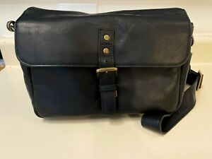 ONA The Bowery Leather (Black) Camera Handcrafted Premium Leather Bag