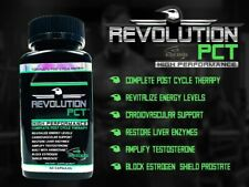 Finaflex REVOLUTION PCT BLACK Post Cycle Therapy Energy Strength Libido 60 caps