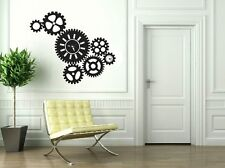 Steam Punk Vinyl Sticker Wall Decal-Great for walls of your home and as gifts.