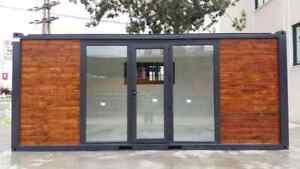 Modular Building Portable Cabin garden portable office (2) x  2.44 mt x 6.06 mt