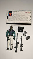 Hasbro GI Joe Sgt. Stalker v8 2005 Winter Operations TRU Exclsive Complete wCard