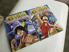 lot mangas.  one peace 1 et 2 ..edition glenat couleur ..