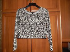 """Blouse """"H&M"""" Beige Mix Size: Eur L  New With Tags from Norway SALE"""