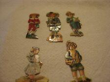 Mix  Small Vintage Scraps   Figures