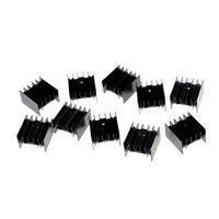 10x TO220 transistor en aluminium radiateur dissipateur de chaleu Q9F