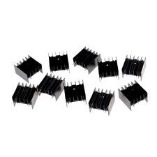 10x TO220 transistor en aluminium radiateur dissipateur de chaleur CW