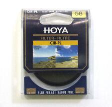 Hoya 58mm Circular Polarizing CIR-PL CPL FILTER for Canon Sony Nikon Lenses