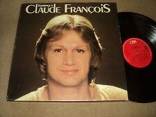 """@ CLAUDE FRANCOIS COFFRET TRIPLE 33 TOURS LP 12"""" HOMMAGE A (LABELS ROUGE)"""