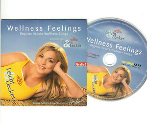 CD Wellness Feelings Regina Halmichs liebste Wellness-Songs by Frico Käse Promo