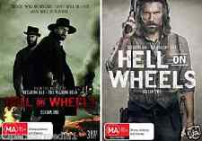 Hell On Wheels COMPLETE Season 1 & 2 : NEW DVD