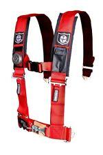"Pro Armor Seat Belt Harness 5 Point 2"" Padded Red Kawasaki Teryx 750 800 4 All"