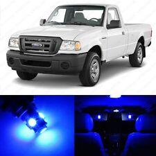13 x Blue LED Interior Light Package For 1998 - 2011 Ford Ranger + PRY TOOL