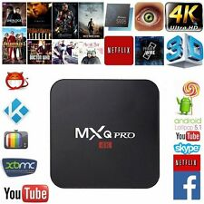 MXQ Pro Android TV Box S905 4K Digital TV Streaming Box Quad Core Android 6.0