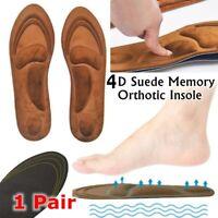 el arco Ortesis El cuidado de los pies Inserta Plantilla de espuma Zapatos Pads