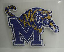6-Inch Memphis Tigers Logo Perforated Vinyl Window Graphic