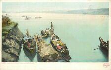 C-1910 Native Indian Puget Washington Postcard Detroit Publishing 20-1689