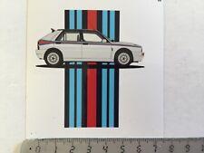 Sticker / Aufkleber, Lancia Delta Integrale Evo Martini