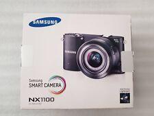Samsung NX NX1100 20.3MP Digital Camera - White (Comes With 20-50mm Lens)