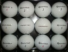 12 Taylormade Tour Preferred used golf balls