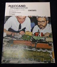 Meccano Magazine 1972 January Trams Musical boxes Australian Lizard Parts