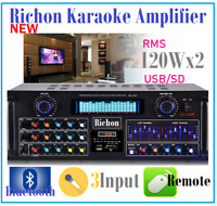 NEW ARRIVAL PROFESSIONAL KARAOKE AUDIO MIXING AMPLIFIER USB & BLUETOOTH