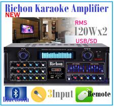 RICHON KA-1501 PROFESSIONAL KARAOKE AUDIO MIXING AMPLIFIER USB & BLUETOOTH