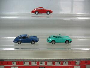 N329-0, 5 #3x wiking H0 Models Porsche: 1x Carrera 4 Cabriolet, 2x 911 C