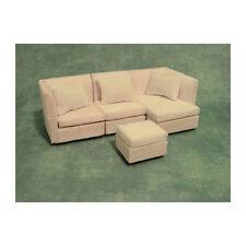 SA-Dollshouse DF996 modernes Eckcouch Sofa weiß 1:12 für Puppenhaus NEU!   #