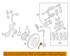 GM OEM Brake-Front-Axle Nut Washer 94525149